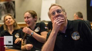 The moment the New Horizons team first saw that Pluto photo