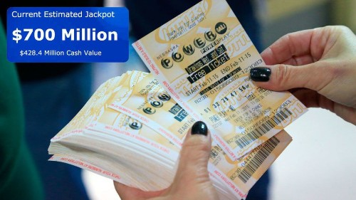 Powerball jackpot hits $700 million, largest ever in U.S.