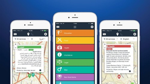 This refugee aid app was a passion project. Now hundreds of nonprofits rely on it.