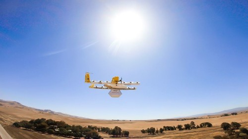 Alphabet's Wing drone will soon deliver Walgreens, FedEx packages