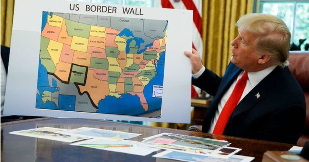 Trump's proposed Colorado border wall has inspired a lot of Sharpie memes