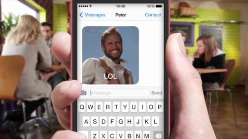 GIF Keyboard for iOS 8 Is the App You've Been Waiting For