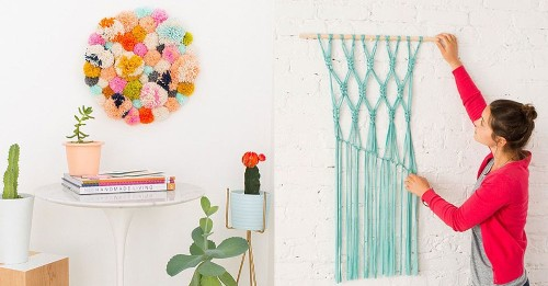 14 DIY wall art projects for people who can't paint