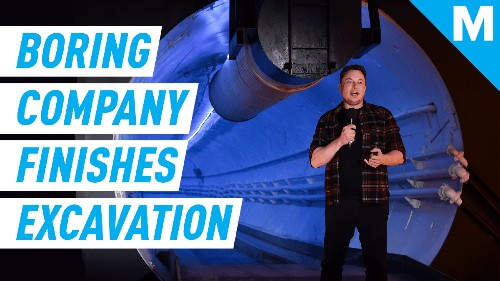 Elon Musk's Boring Company Has Completed Its Excavation Of A Transportation Tunnel Under Las Vegas