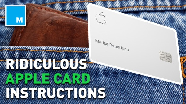 Apple shares rigorous instructions for Apple Card maintenance, hilarious memes ensue