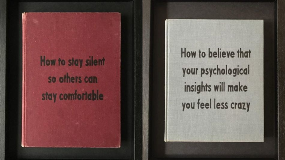 This Instagram artist's mock self-help books are honestly too relatable