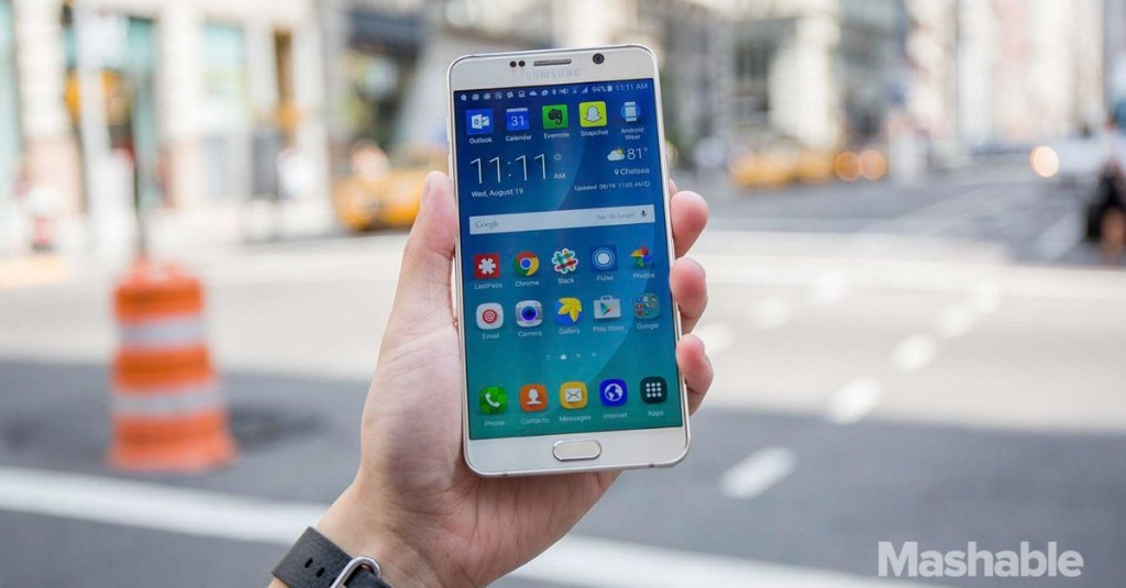 Samsung Galaxy Note 5: The big screen goes chic, but at a cost [REVIEW]