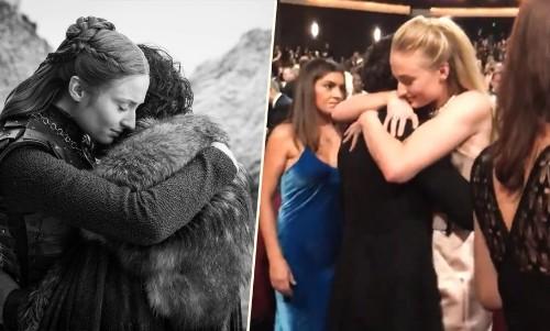 Emmys 2019: Did Sophie Turner And Kit Harington Recreate Sansa And Jon's Hug?