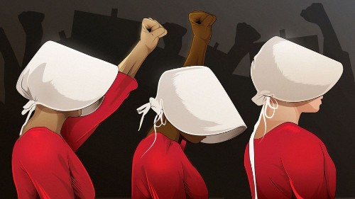 Why 'Handmaid's Tale' costumes are the most powerful meme of the resistance yet
