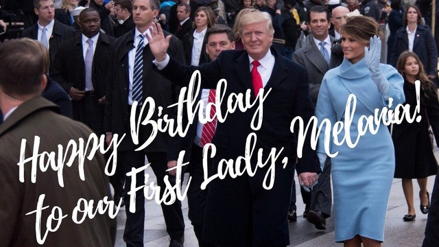 Even Donald Trump's birthday tweet to Melania has a factual error in it
