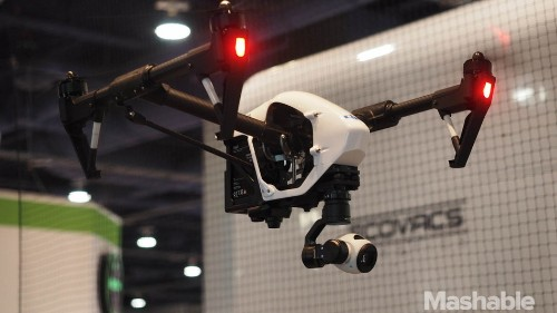 CES 2015: Welcome to the drone zoo