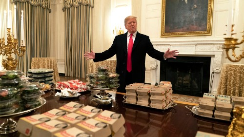 Michelin-starred restaurant invites Clemson football team to dinner after White House fast food fest