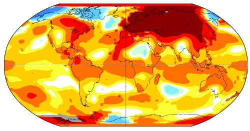 Global Warming  - cover