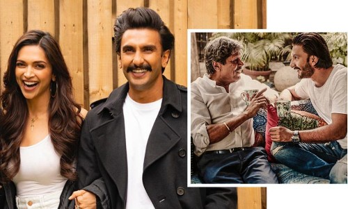 """Ranveer Singh Welcomes """"Wifey"""" Deepika Padukone To The '83' Squad In The Most Adorable Way"""