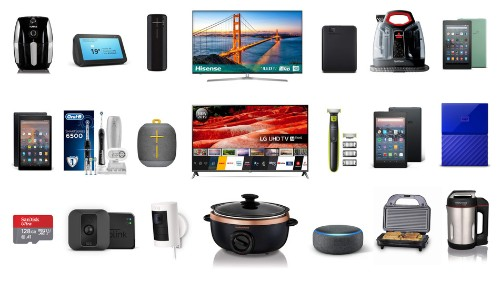 Amazon devices, LG 4K TVs, WD hard drives, Oral-B toothbrushes, and more on sale for Oct. 17 in the UK