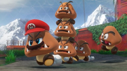 Revelation that Goombas might have arms and hands rocks video game world