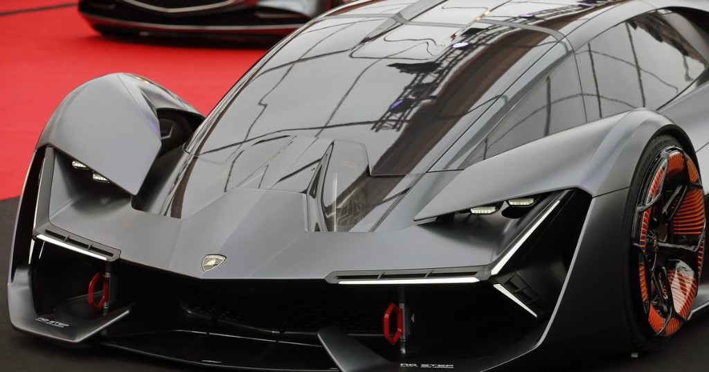 Lamborghini teases a new, possibly hybrid supercar with a stylish photo
