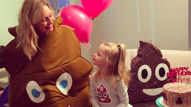 Amazing Mom throws her daughter the ultimate poop-themed party