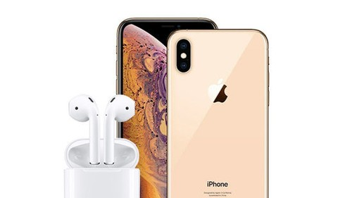 Enter to win an iPhone XS Max and AirPods