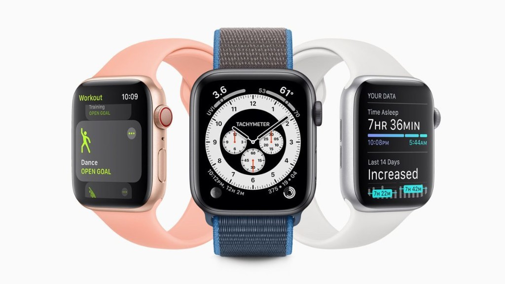 Apple's WatchOS 7 beta is now available for download