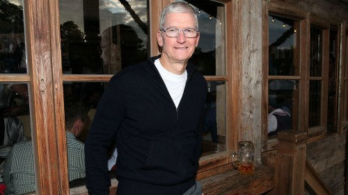 Tim Cook throws shade at Facebook's Libra cryptocurrency