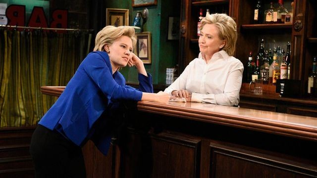 Hillary Clinton 'loved' the idea of playing the bartender on 'SNL'