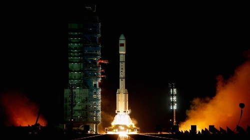 China's Tiangong-1 space station might be back on Earth in time for 'The Walking Dead'