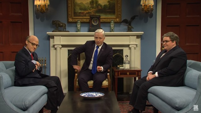 Trump's impeachment brings out a new surprise guest for the 'SNL' cold open