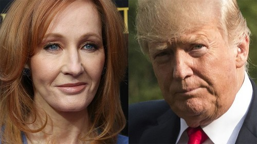 J.K. Rowling's latest Trump burn is one of her most brutal so far