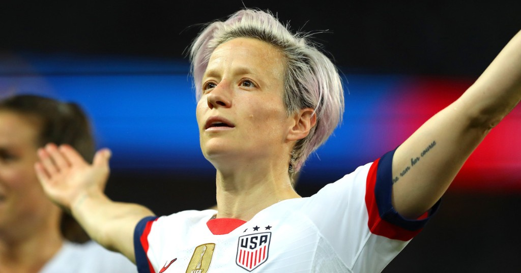 Megan Rapinoe gives champion-level response to the tea sipping backlash