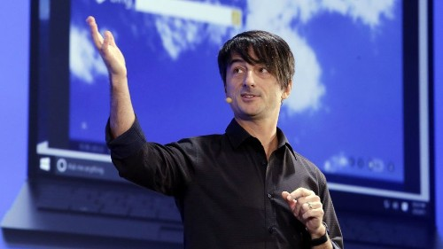Back from the sea, Joe Belfiore is ready to help Microsoft win