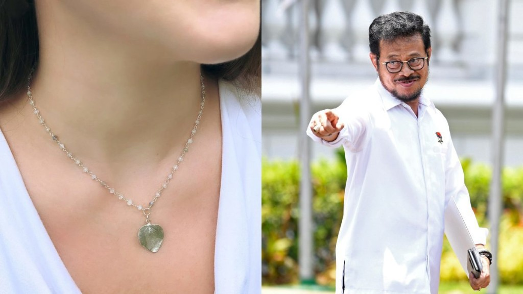 Indonesia is producing a special necklace which they claim can kill coronavirus
