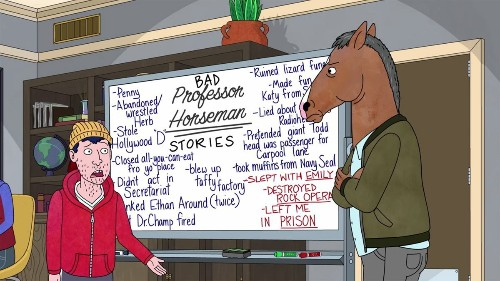 We Decoded Everything In The 'Bojack Horseman' Whiteboard Scene So You Don't Have To