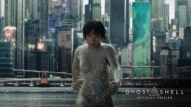 Scarlett Johansson kicks ass in the first 'Ghost in the Shell' trailer