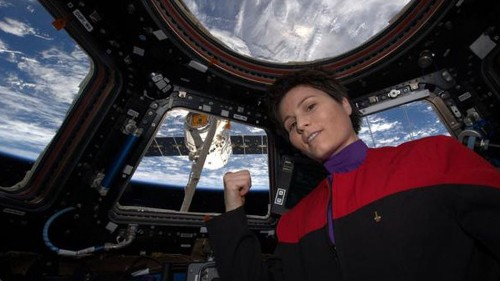 ISS astronaut takes the most epic 'Star Trek' selfie ever