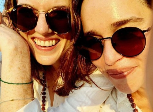Emilia Clarke and Rose Leslie Are In India And You Could Bump Into Them On Your Generic Rishikesh Trip