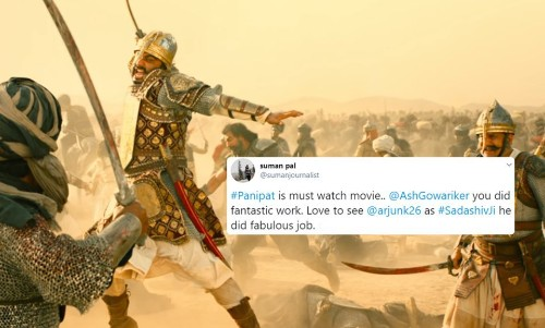 Panipat: Early Reactions To Ashutosh Gowariker's Historical Epic Are Here And They Are Mixed - Entertainment
