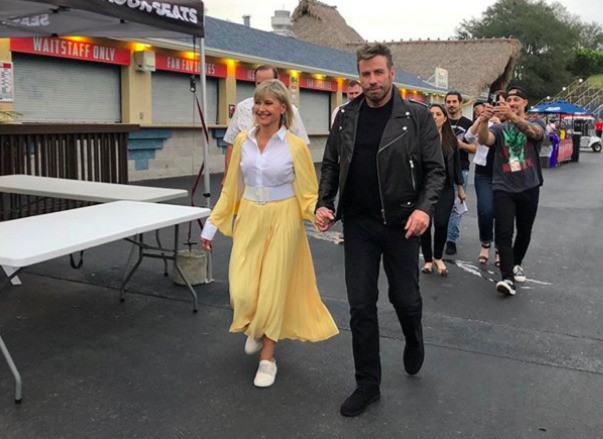 Olivia Newton-John And John Travolta Had A 'Grease' Reunion With Costumes And All - Entertainment