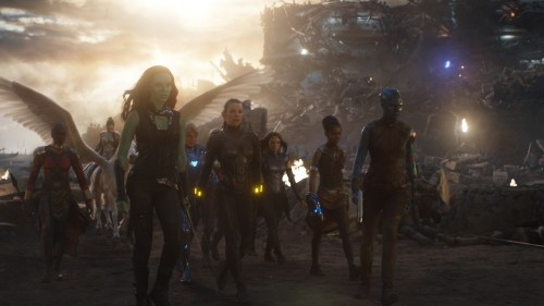 Marvel assembles a perfect 'Avengers: Endgame' set photo that beats the movie moment