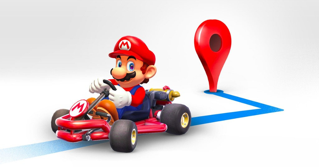 Google Maps has a 'Mario Time' feature, and it's as awesome as it sounds