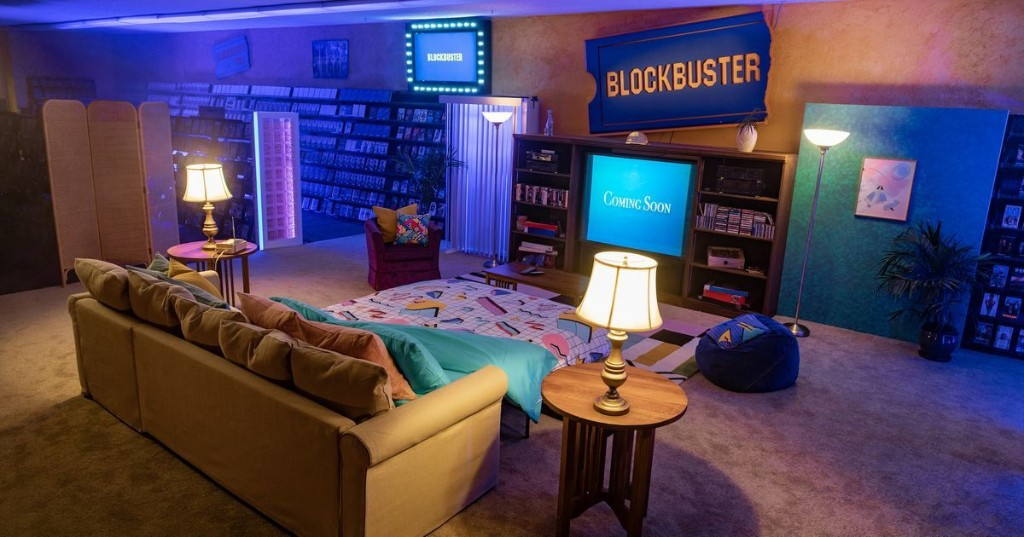 Last Blockbuster store is now on Airbnb for a nostalgic '90s sleepover