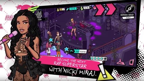 Nicki Minaj's new mobile game is a challenge to 'become the next rap superstar'