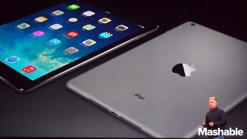 Apple Unveils iPad Air