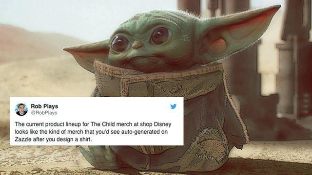Disney's Baby Yoda merch is getting rained on harder than wet season in Dagobah