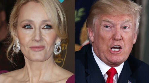 J.K. Rowling rips into Donald Trump and Fox News with 2 brutally effective tweets