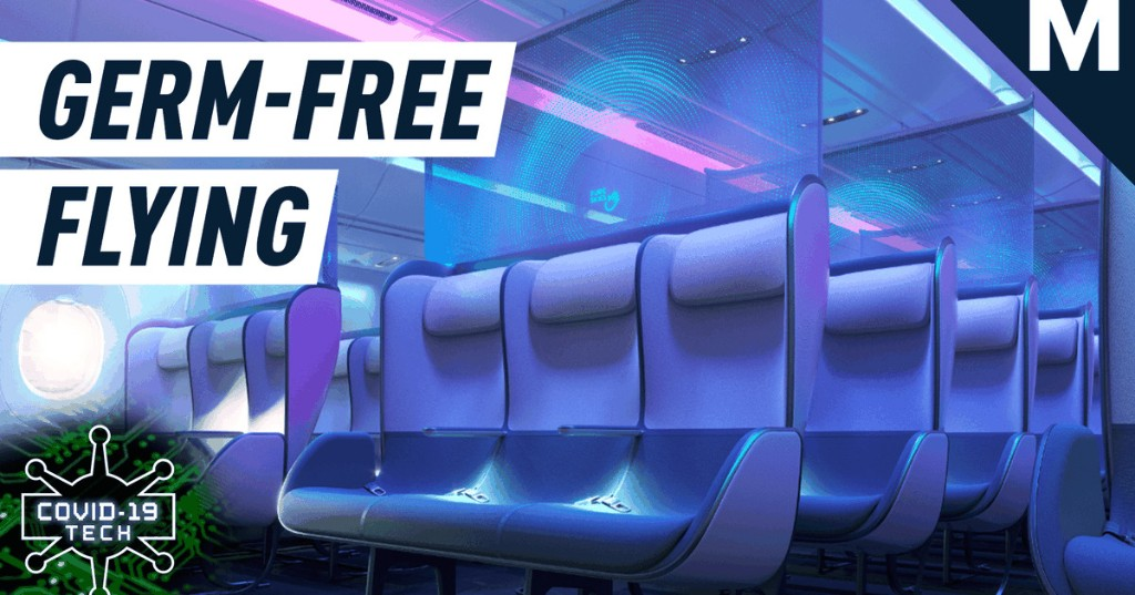 This concept aircraft cabin is designed for post-pandemic travel — Future Blink