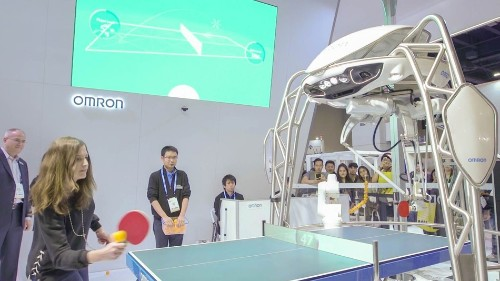I played ping pong with a robot and lost