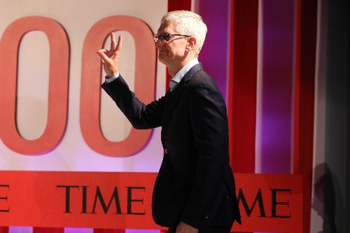 Tim Cook says 'we don't want people using their phone all the time.' That's total BS. - Tech