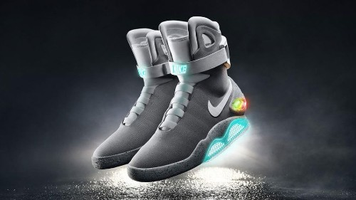 Nike officially unveils self-lacing 'Back to the Future' sneakers