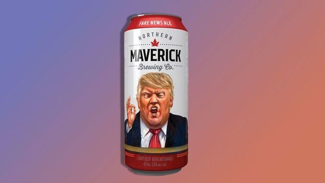 Canadian brewer creates the beer we all deserve: Fake News Ale